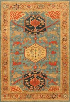 Persian Shirvan Blue Gold
